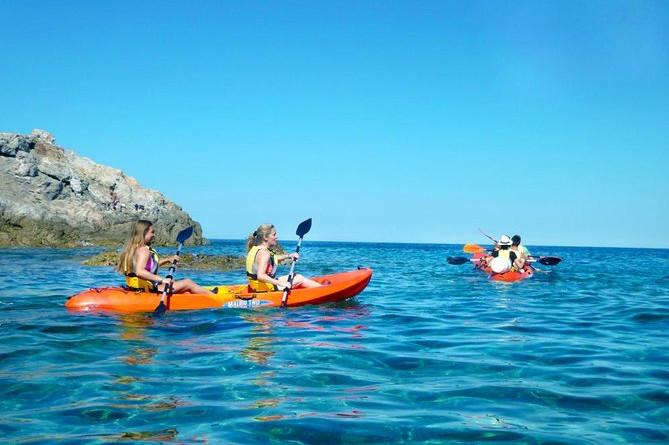 Havkajak guidet tur på Korsika fra Lozari-stranden til Agriate-reservatet