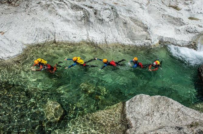 Canyon i øen Korsika: Canyon of Verghellu