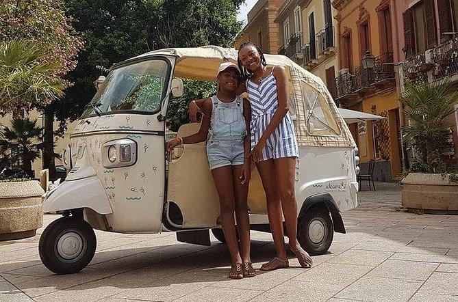 Apelisetta tuk tuk: Cagliari-tur