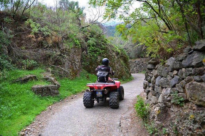 Rundtur til Mt Etna Off-Road med Quad Bike