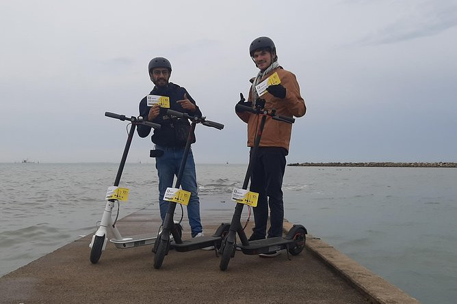 Rental of electric scooters