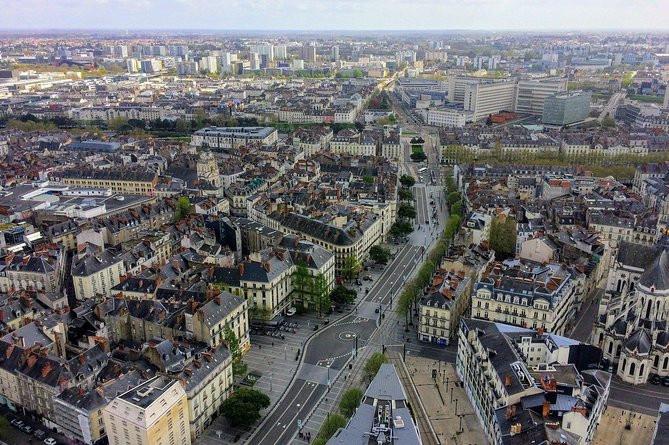 Sjov gåtur for at opdage Nantes