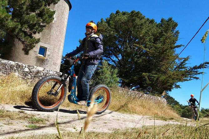 Coteaux de Guérande i elektrisk scooter