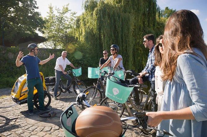 Panorama-tur til Nantes med el-cykel