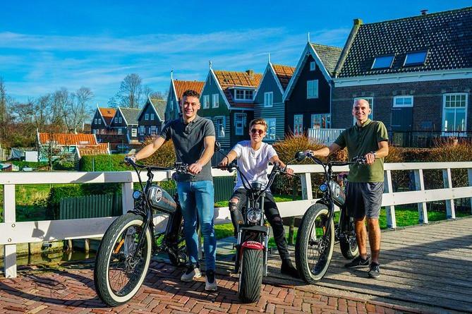 E-scooter rental Volendam - Countryside of Amsterdam