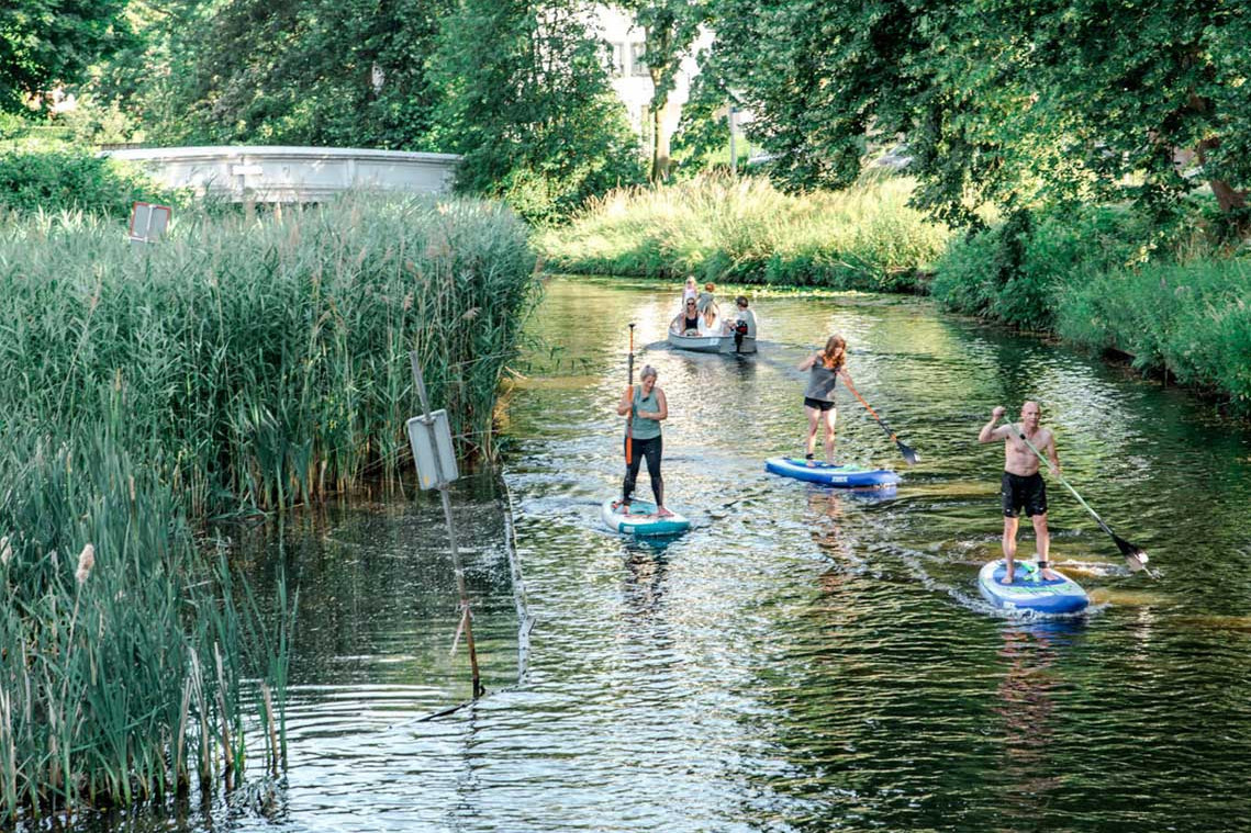 Guided Stand Up Paddling Tour Breda