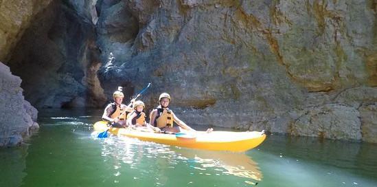 Kayak a noleggio 8 ore - Lago di Santa Giustina (TN)