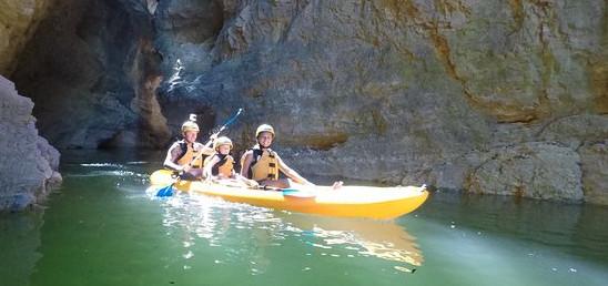 Kayak a noleggio 4 ore - Lago di Santa Giustina (TN)