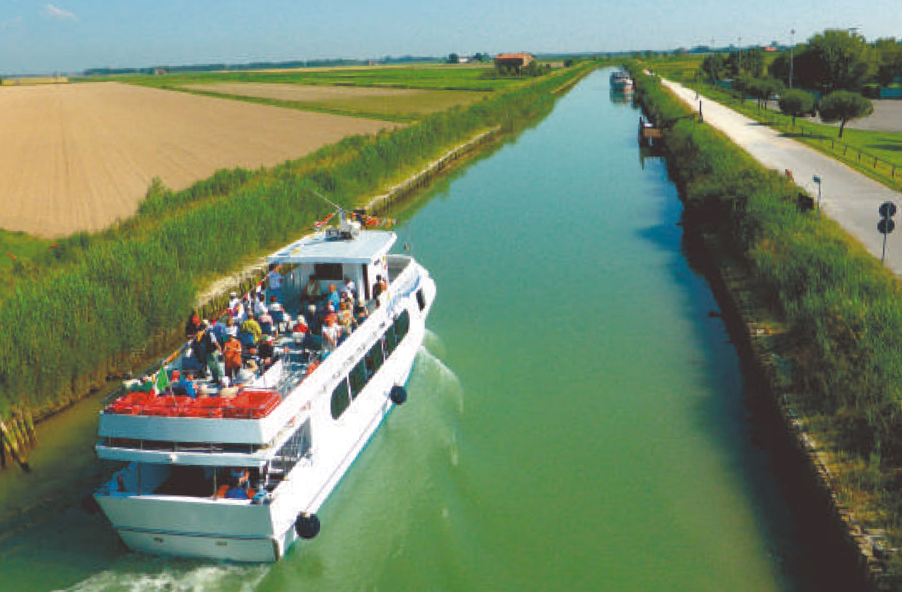 Ausflug mit dem Lagunenboot - Caorle