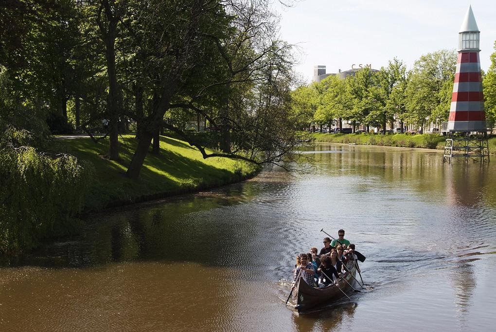 Canoe trip Breda
