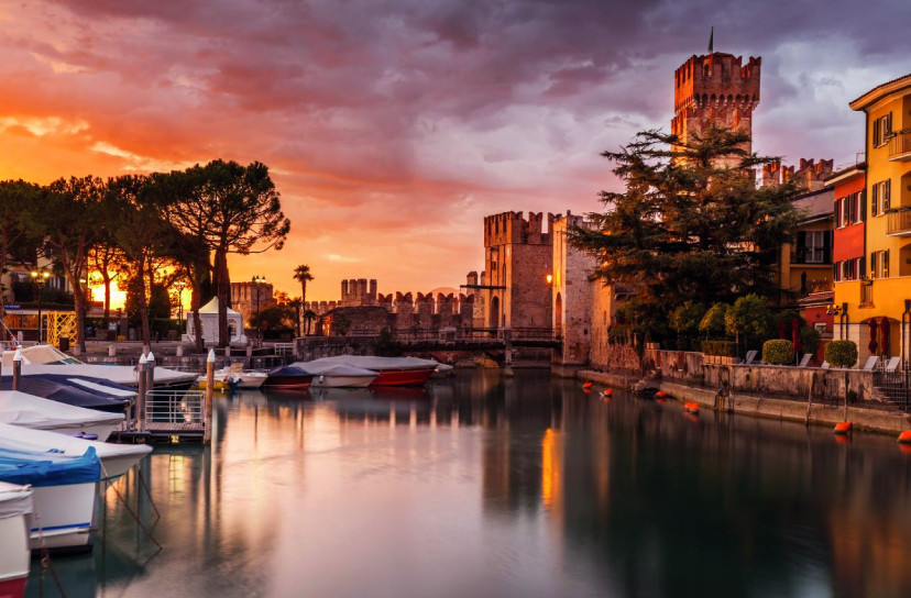 Sirmione by night