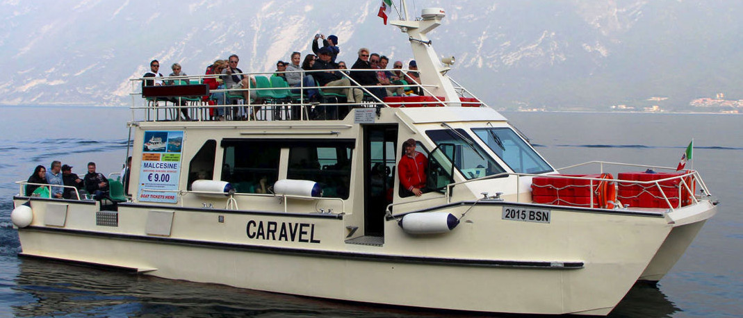 Limone-Malcesine-Limone boat transfer