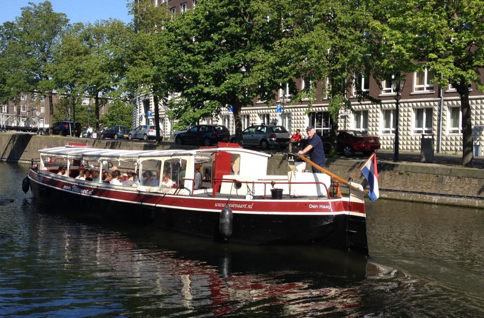 Bådtur fra Delft til Haag