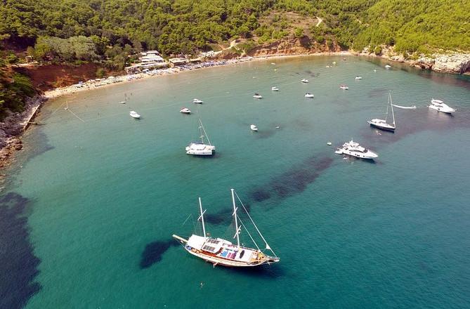 Halbtägige private Elafiti Island Bootstour