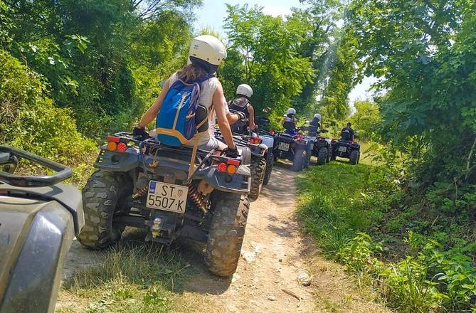 Heldags ATV-tur fra Split