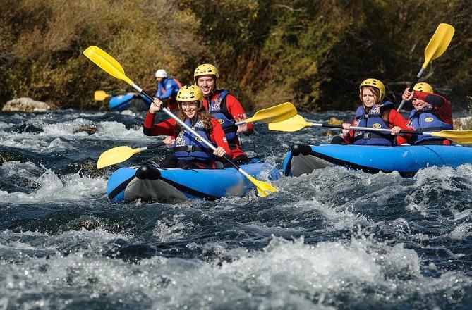 Kano Safari på Cetina-floden fra Split eller Zadvarje