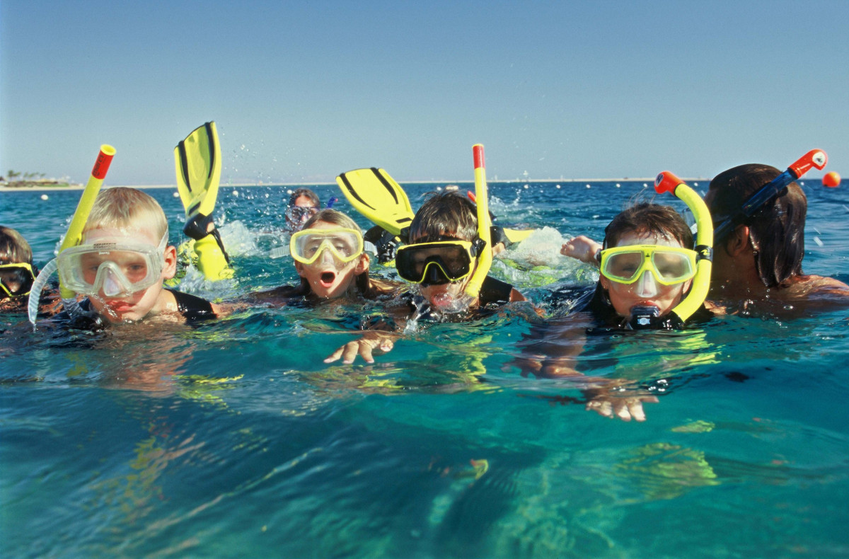 Baby snorkling + free Aperitif for the parents