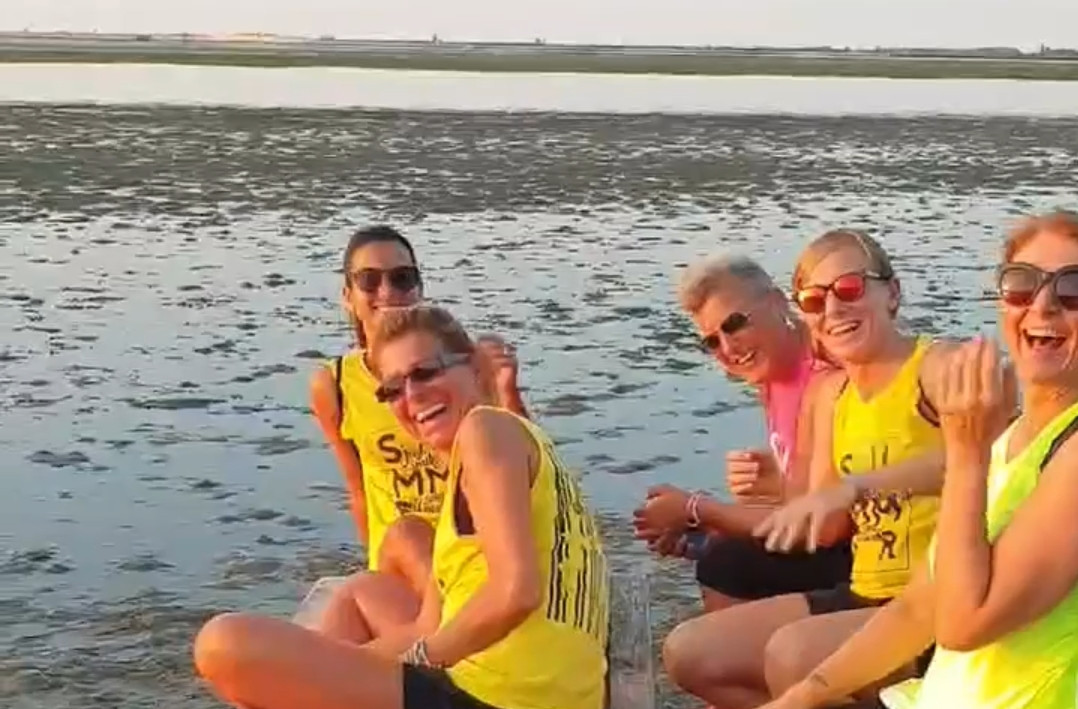 Sunrise Fitness by Boat
