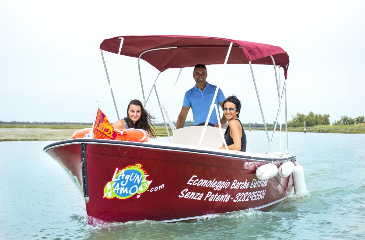 Boat rental 4.5H - Laguniamo