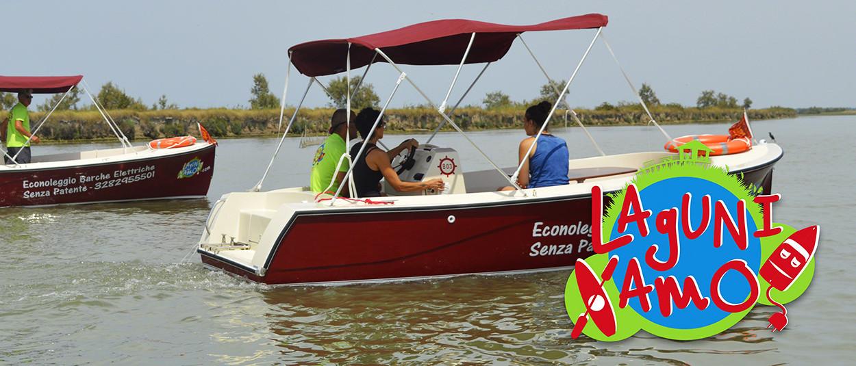 Noleggio E-Boat 3h - Laguniamo