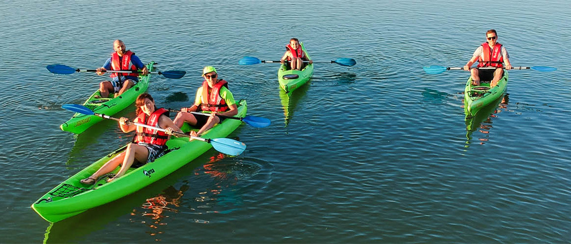 Esperienza di kayak - Laguna di Cavallino