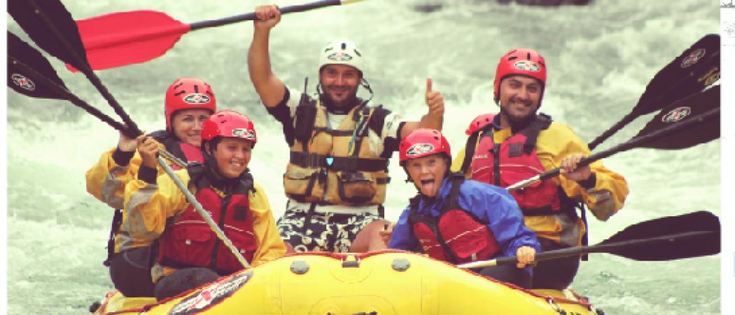 Ivan Team Family Rafting
