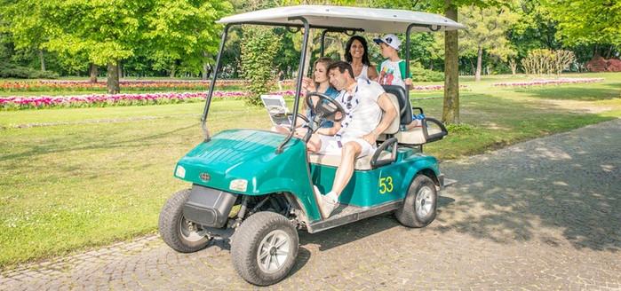 Parco Sigurta - 2 pax+Golf cart
