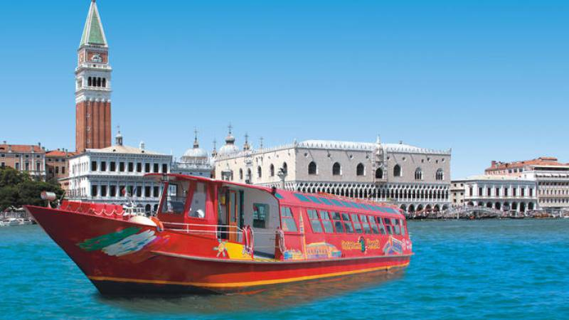 Hop-on Hop-off Boat Venezia 24H