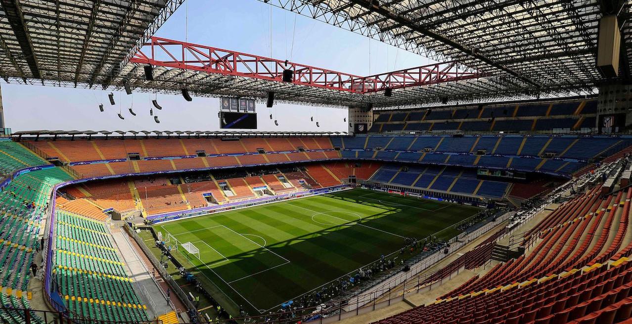 San Siro Stadion: Ohne Anstehen