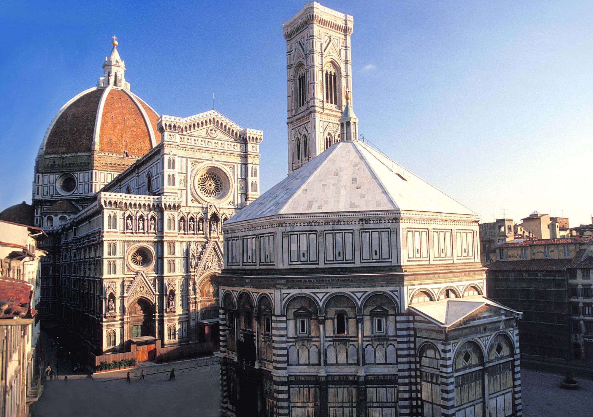 Rundgang Florenz + Accademia, Uffizien ohne Anstehen