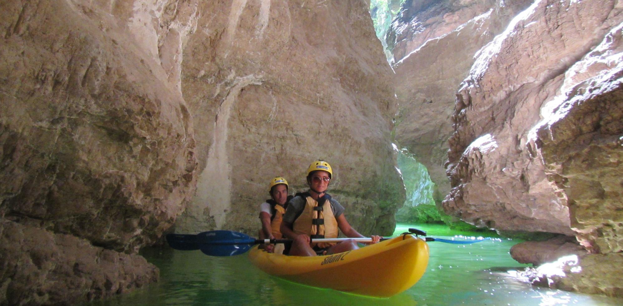Canoe Adventure Rio Novella Gorges