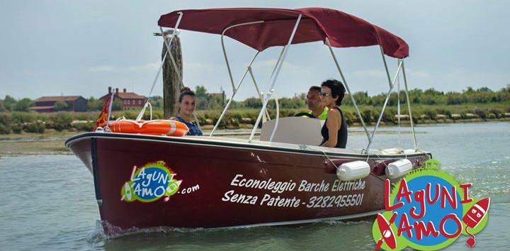 Noleggio E-Boat 4.5h - Laguniamo
