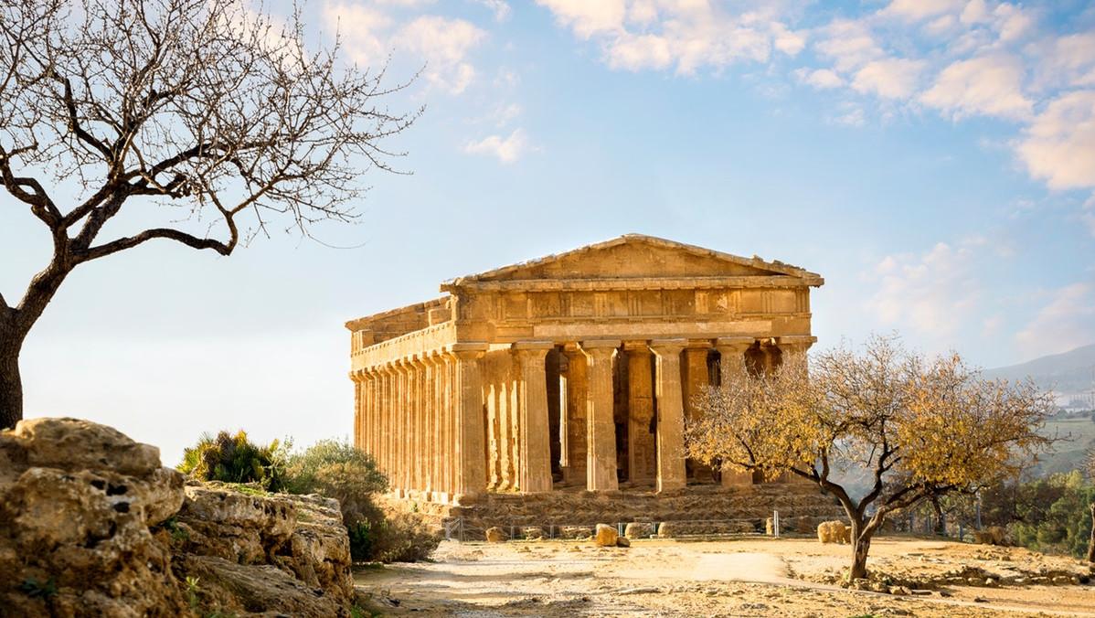 De Vallei van de Tempels in Agrigento + Audiogids