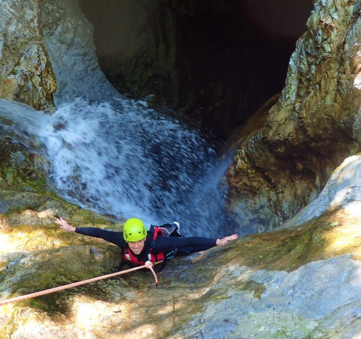 Canyoning Tour Lake Garda/Idro