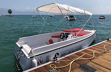 Electric boat  8 hours - Nautica Felice