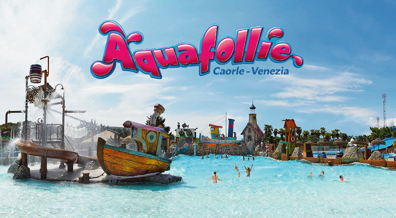 Aquafollie waterpark Caorle