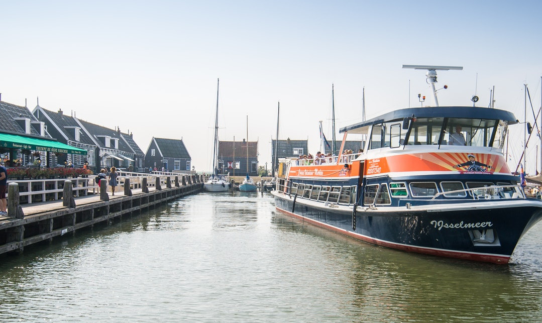 Volendam-Marken Express: Tour in Barca