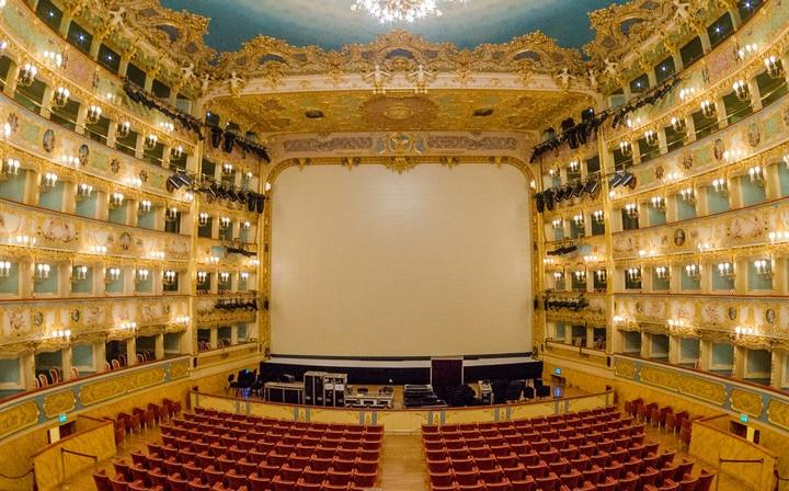 Teatro La Fenice: Ohne Anstehen + Audioguide