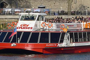 Hop-on-Hop-off City Cruise London 24H