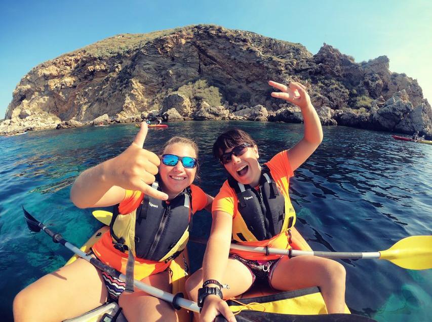 Fra L'Estartit: Hav-kajak tur til Medes Islands