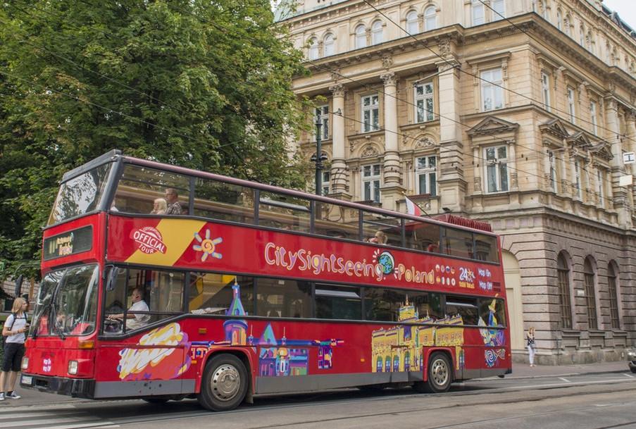 Hop-on Hop-off bus Krakow