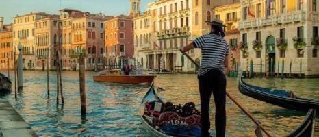 Privé-gondelrit in Venetië