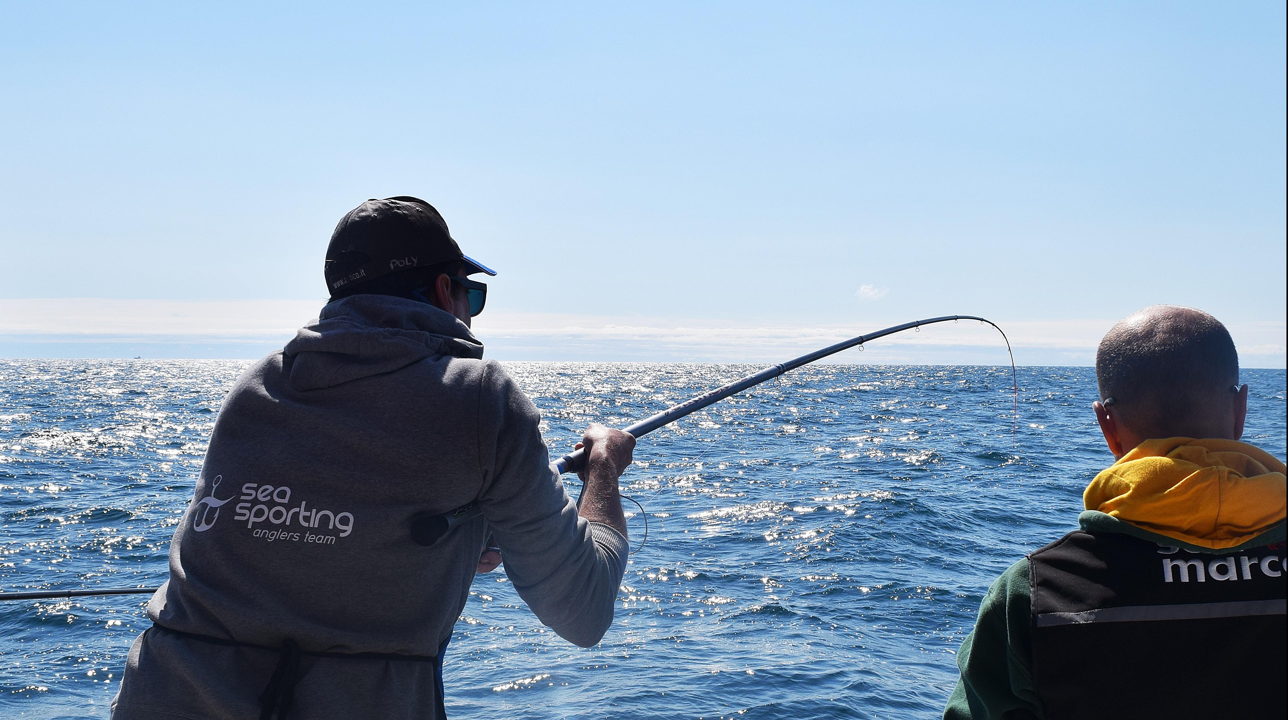 Pesca sportiva in mare