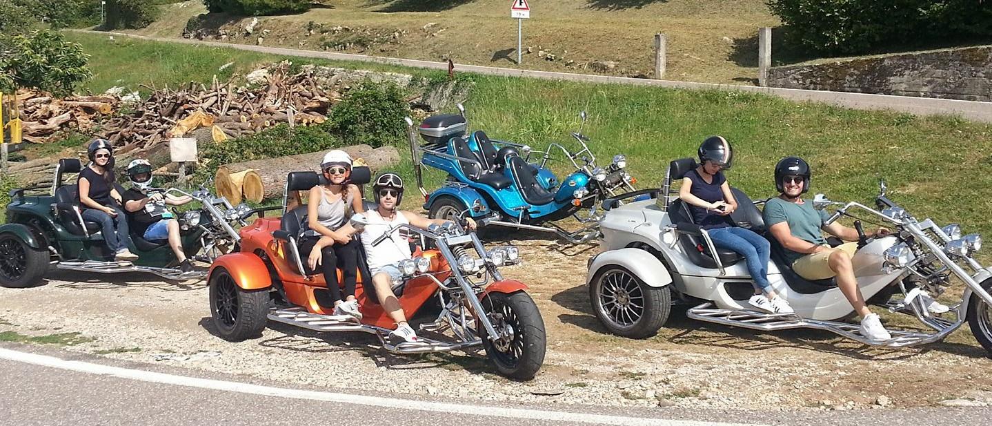 Trike tour Lake Garda