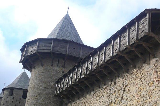 Gåvandring Carcassonne
